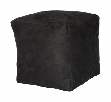 Sitzwürfel Pouf, anthrazit  40x40x40cm