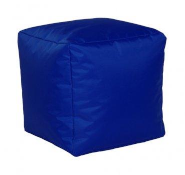 Sitzwürfel Nylon, kobaltblau 40x40x40cm