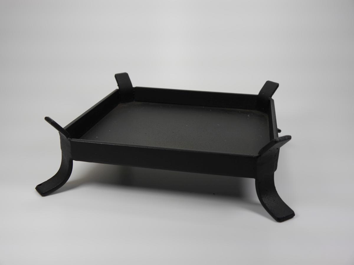 kerzenhalter aus metall f r quaderkerze 170x170mm online shop. Black Bedroom Furniture Sets. Home Design Ideas